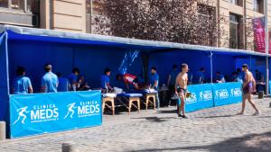 MEDS presente en la Maratón de Santiago