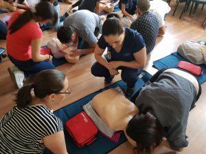 Con éxito se desarrolló curso de Primeros Auxilios en MEDS