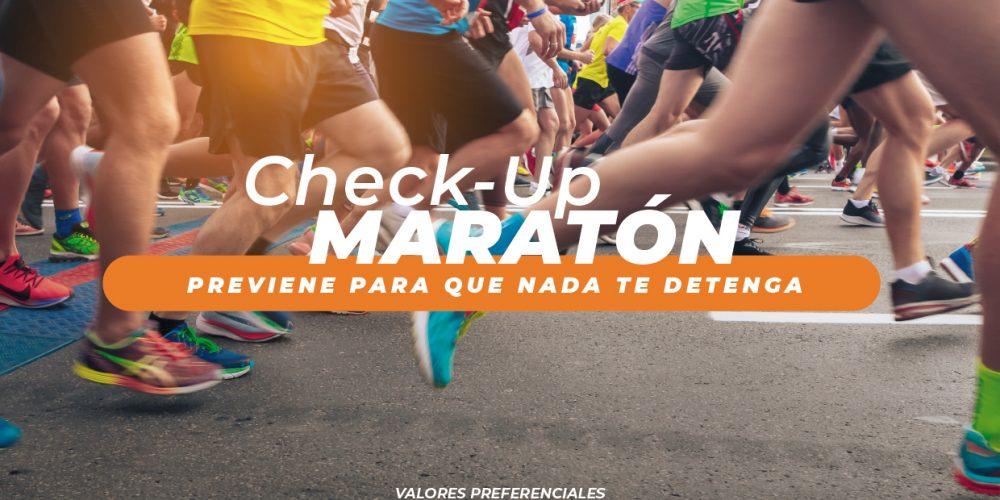 Campaña Check Up Maratón 2020