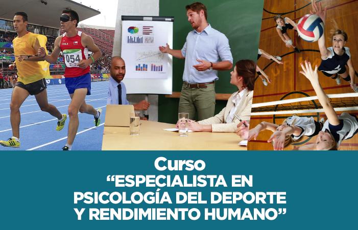 """Curso """"Especialista en Psicología del Deporte y Rendimiento Humano ..."""